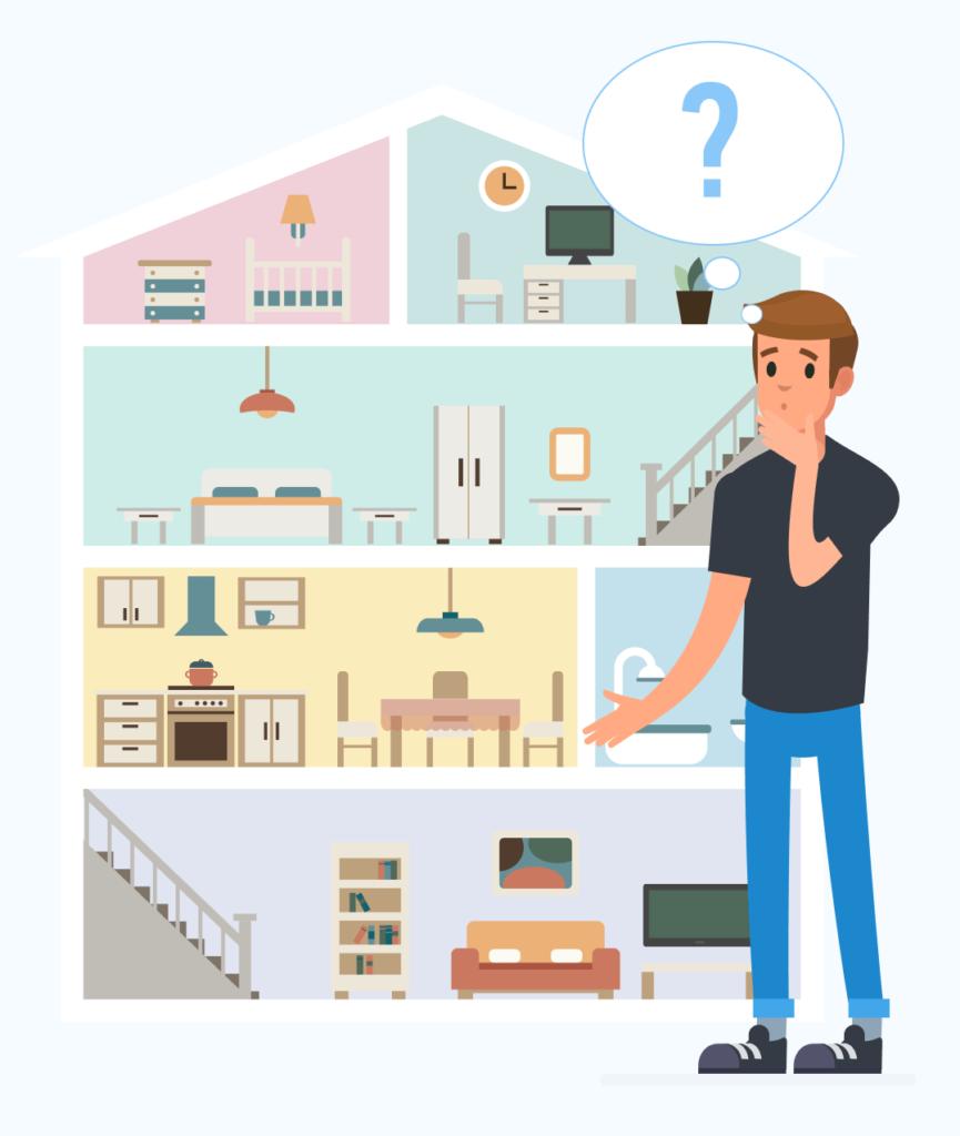 В какой комнате важен чистый воздух?